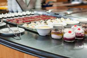 desserts all inclusive Benidorm